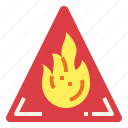 explosion, flame, flaming, flammable icon