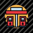 artboard, fuel, gas, oil, petrol, station icon