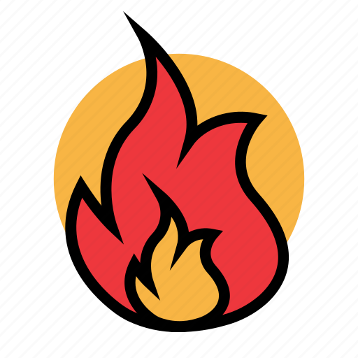 fire, fuel, gas, oil, petrol, station icon