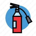 fire, fuel, gas, hydrant, oil, petrol, station icon