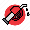 fuel, gas, hose, oil, petrol, station icon