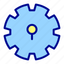 gear, interface, maintenance, setting, ui, user icon