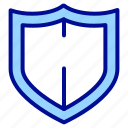 guard, police, safety, security, shield icon