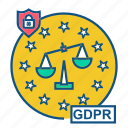 gdpr, justice, law, rules