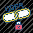 clip, gdpr, lock, secure, security