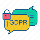 gdpr, secure, securitychat