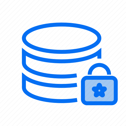data center, database security, gdpr, privacy, protected database, security icon