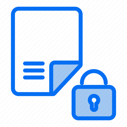 encrypted document, file protection, gdpr, locked document, protected file, safe file, security icon