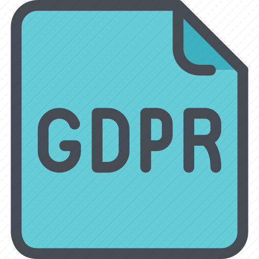 document, eu, file, gdpr, secure, security icon