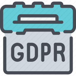 business, date, eu, event, gdpr, plan, planning icon