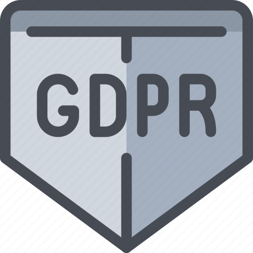 eu, gdpr, protect, secure, security, shield icon