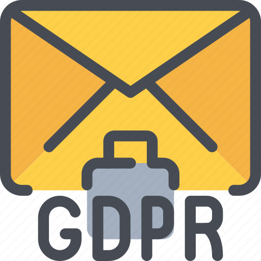 email, eu, gdpr, letter, mail, secure, security icon