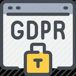 exchange, file, gdpr, padlock, secure, security, sharing icon