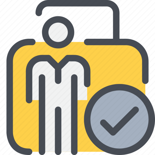 check, data, padlock, personal, secure, security icon