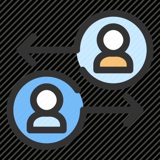 data, gdpr, personal data, sharing icon