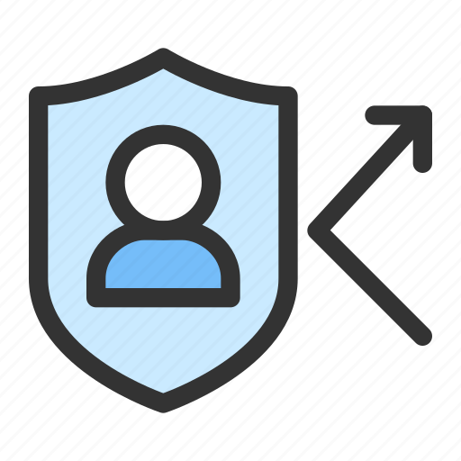 gdpr, personal data, protection, safety, shield icon