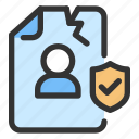 breach, gdpr icon