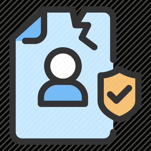breach, gdpr icon