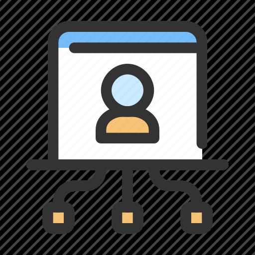 data, gdpr, personal icon