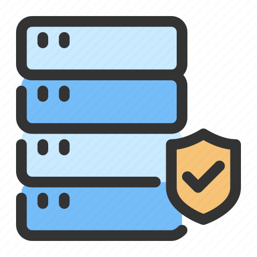 gdpr, protection, server, storage icon