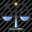 gdpr, justice, law icon