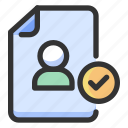 gdpr, personal data, protection icon