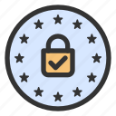 data protection, gdpr, privacy icon