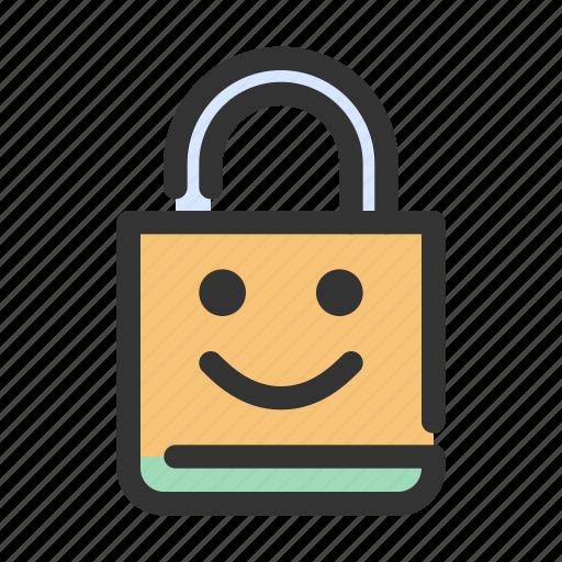 gdpr, lock, security icon