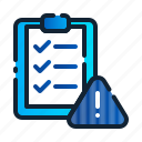 checklist, clipboard, compliance, document, eu, gdpr, general data protection regulation icon