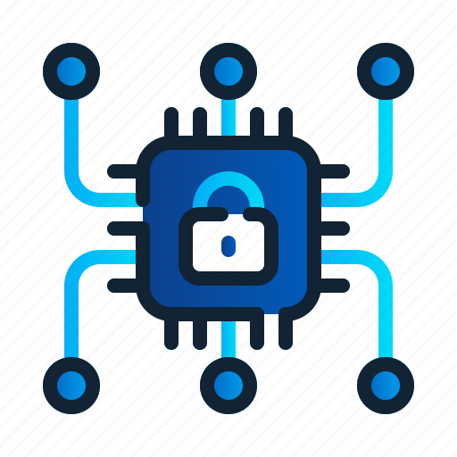 chips, core, eu, gdpr, general data protection regulation, processor, transfer icon