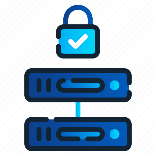 eu, gdpr, general data protection regulation, hosting, network, server, storage icon