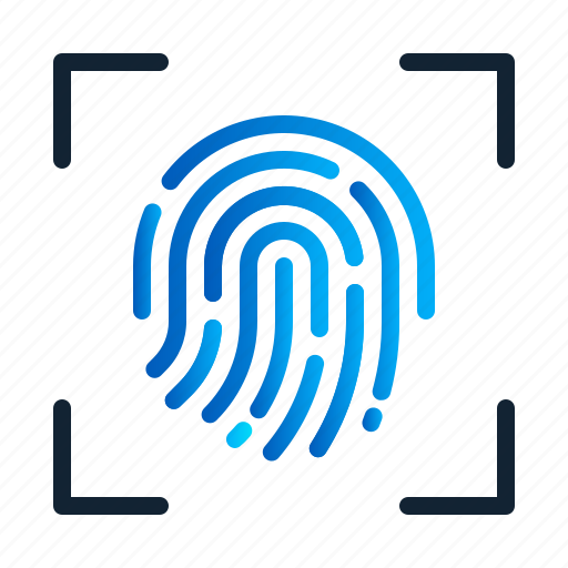 biometric, eu, fingerprint, gdpr, general data protection regulation, scan, security icon