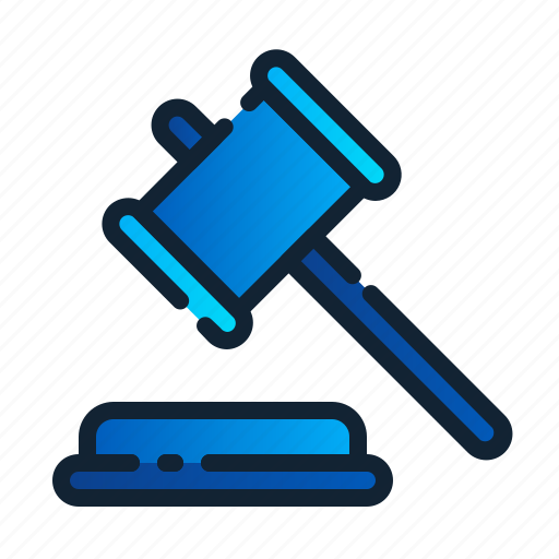 eu, gdpr, general data protection regulation, hammer, justice, law, legal icon