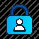 eu, gdpr, general data protection regulation, lock, privacy, profile, user icon