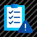checklist, clipboard, compliance, document, eu, gdpr, general data protection regulation icon