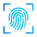 scan, general data protection regulation, fingerprint, eu, gdpr, security, biometric