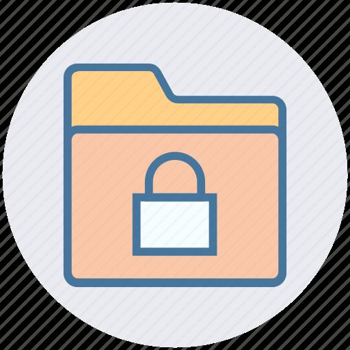 Document, folder, gdpr, lock, safe folder, security icon - Download on Iconfinder