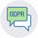 chat, chatting, conversation, messages gdpr