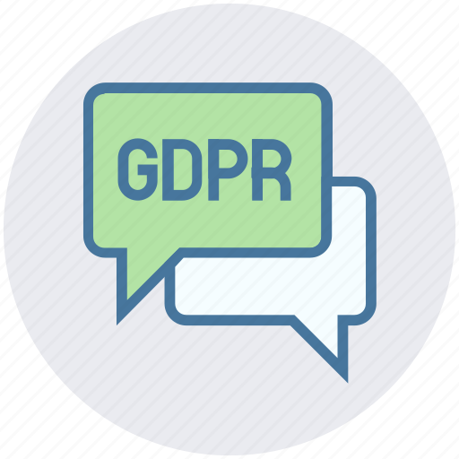 Chat, chatting, conversation, messages gdpr icon - Download on Iconfinder