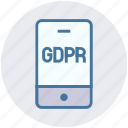 data, gdpr, mobile, protection, secure, security, smartphone
