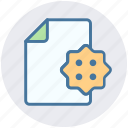 documents, file, gdpr, page, sheet, shield icon