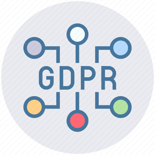 Data, eu, gdpr, network, secure, security icon - Download on Iconfinder