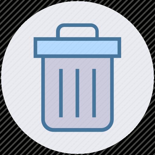 Basket, bin, cleaning bin, dust, dust bin, recycle bin, trash icon - Download on Iconfinder