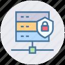 connection, database, gdpr, hosting, lock, shield