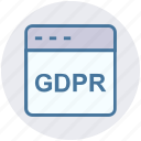 browser, domain, gdpr, internet, web, webpage, website