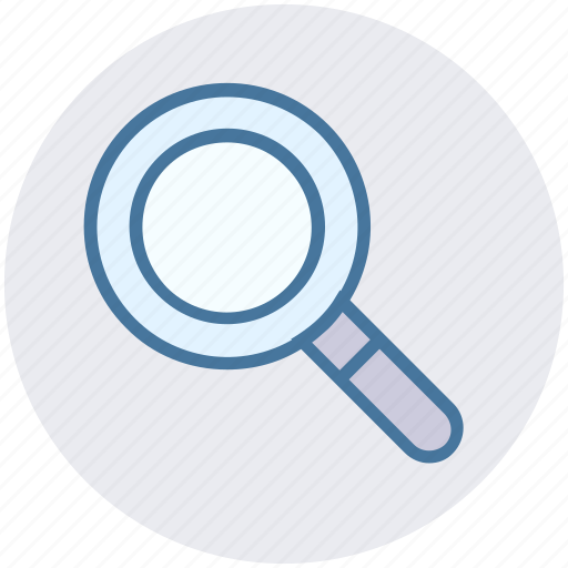 Find, glass, magnifier, magnifying, search, view, zoom icon - Download on Iconfinder