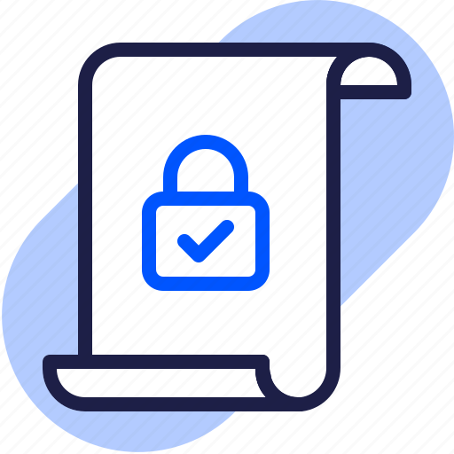 document privacy, eu, file data, gdpr, general data protection regulation, lock, security icon