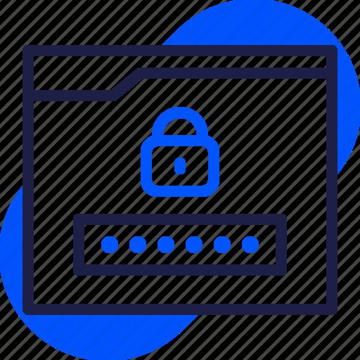 eu, gdpr, general data protection regulation, lock, login, password, secret icon