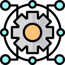 cloud, internet, network, network icon icon