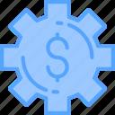 gear, settings, setup icon icon
